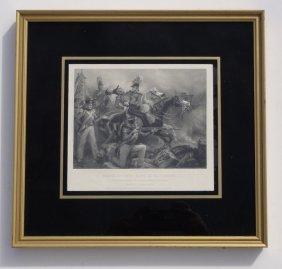 Death Of General Ross At Baltimore, 1859 (custom