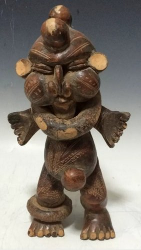 Tikar Pottery Statue