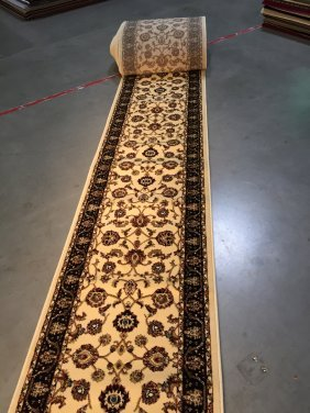 30' Ft Premium Quality Wide Roll Runner With Persian