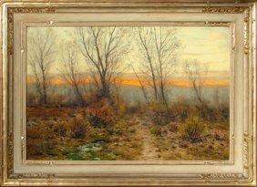 Autumn Sunset In Colorado, Charles P. Adams