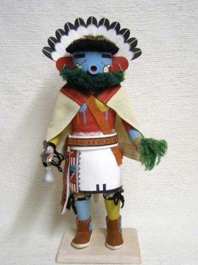 Antique Native American Hopi Carved Morning Singer