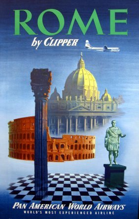 Pan American Rome By Clipper