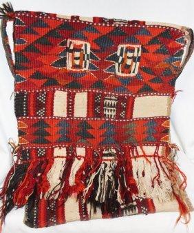 Vintage Handmade Kuwaiti Camel Saddle Bag
