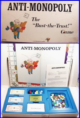 "Vintage 1973 Anti-monopoly ""bust The Trust"" Ralph"