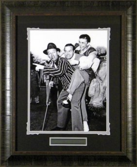 Crosby, Hope & Sinatra Piggyback