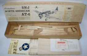 Sig Controliner Snj North American At-6 Wood Wwii