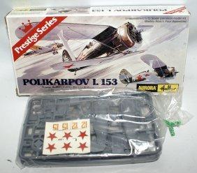 Aurora / Heller 1:72 Polikarpov I-153 Russian Biplane