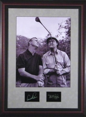 Palmer & Bob Hope Eng. Signatures