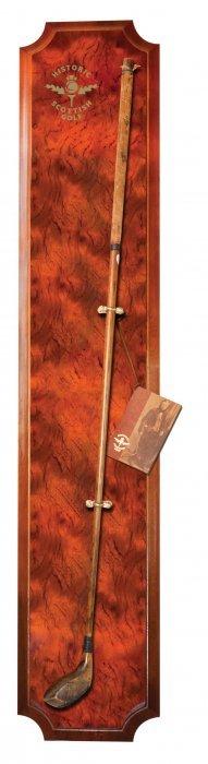 Historic Scottish Golf Vertical Wood