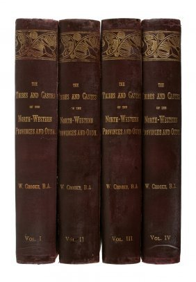 Crooke, W. The Tribes And Castes Of The North-western