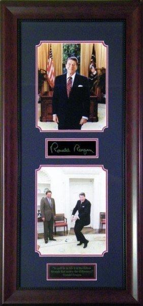 Ronald Reagan Putting