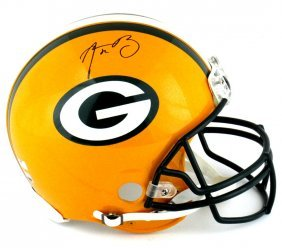 Aaron Rodgers Signed Green Bay Packers Riddell