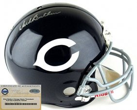 Dick Butkus Autographed/signed Chicago Bears Riddell