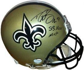 Drew Brees Signed New Orleans Saints Authentic Helmet
