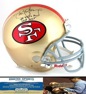 Steve Young Autographed/signed San Francisco 49ers