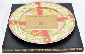 Vintage Painted Versace Charger