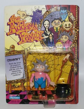 1992 The Addams Family #7006 Granny Action Figure,