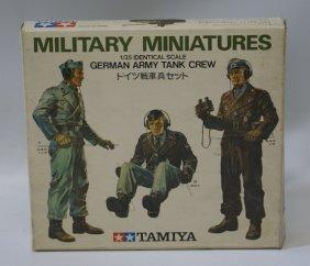 Vintage Tamiya 1:35 Scale Military Miniatures German