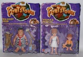 Lot Of 2 Mattel The Flintstones Figures Wilma & Pebbles