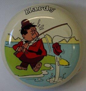 1976 Vintage Hanna Barbera Laurel & Hardy 'hardy' Tin