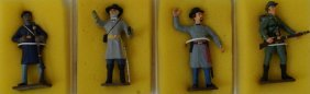 Lot American Civil War Hand Painted Lead Toy Soldiers