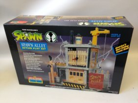 Todd Mcfarlane's Spawn Alley Action Playset & Comic