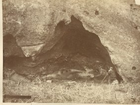 Robinson Crusoe's Grotto, Ile De Juan Fernandez, Chile.