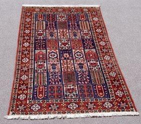 Finely Detailed Persian Bakhtiari 'desert Rug', 5.3 X