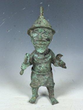 Benin Miniature Warrior