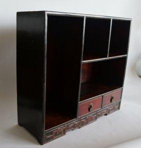 Miniature Antique Bookcase