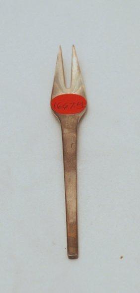 Georg Jensen Sterling Silver Pickle Fork