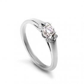 Cartier Platinum Diamond Engagement Ring