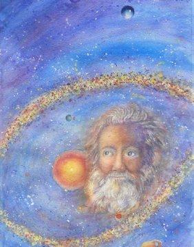 Galileo Galilei - Mixed Media On Paper