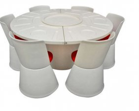 Fabio Lenci Prototype Dining Set, Model 230