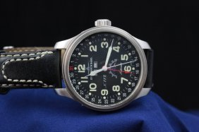 Zeno Os Pilot Watch Full Calendar, Moon Phase