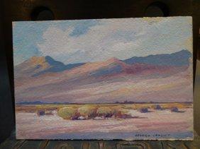 """Edward Marion Langley """"desert Landscape"""""""