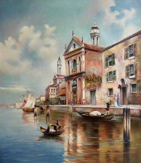 Great Perspective Magnificent Venetian Scene