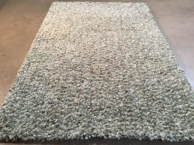 5x8 Super Soft Hand-crafted Shag Rug In Rich Ombre