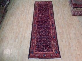 4x10 Persian Bijar Runner Hand Knotted Oriental Rugs