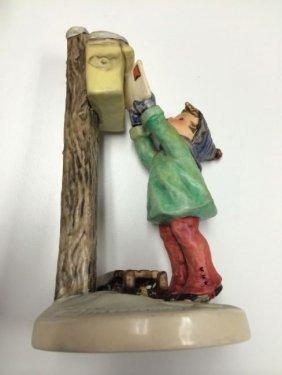 Goebel Germany Hummel 1957 Euc Figurine A Letter To