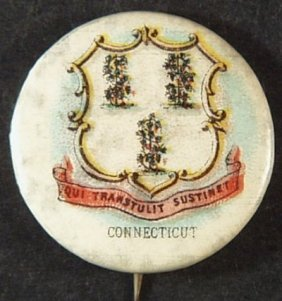 Sweet Corporal Cigaratte 'connecticut' Advertising Tin