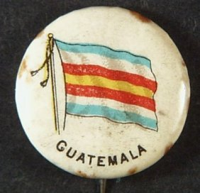 Sweet Corporal Cigaratte ' Guatemala ' Advertising Tin
