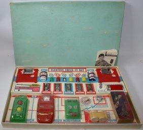 Rare Vintage 1950's Master Electric Build-it Set