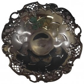 Blackberry By Tiffany & Co. Sterling Silver Candy Dish