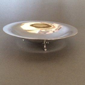 Erik Magnussen Sterling Silver Footed Dish No. 23