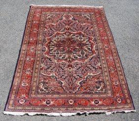 Fascinating Hand Woven Semi Antique Tabriz Floral