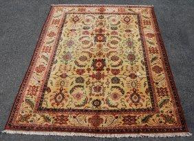 Fine Looking Handmade Allover Persian Design Area Rug