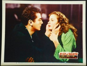 Kiss Of Death '47 Vf Lc #2 Victor Mature & Colleen Gray