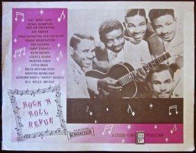 Rock 'n Roll Revue - Original 1955 Lobby Card - Amazing