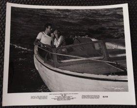 Dr. No - Original 1962 Movie Still 8x10 - Romantic Boat